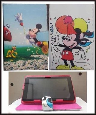 Funda Tablet 7  Pulgadas Disney Mickey Infantil Agenda Atril