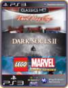 PS3 PACOTE IW 13 MÍDIA DIGITAL Devil Dark Lego Marvel