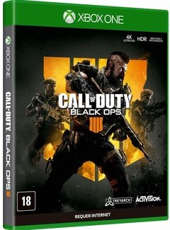 GAME CALL OF DUTY: BLACK OPS 4 - MÍDIA FÍSICA XBOX ONE