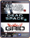 PS3 PACOTE IW 16 MÍDIA DIGITAL Dead Space GRID