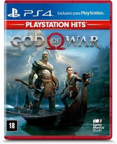 GOD OF WAR HITS - MÍDIA FÍSICA PS4 - comprar online