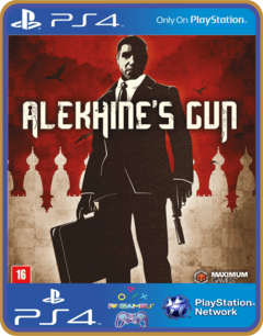 PS4 Alekhine's Gun - MIDIA DIGITAL ORIGINAL 1