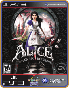Ps3 Alice Madness Returns -  Midia Digital