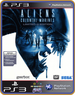 Ps3 Aliens Colonial Marines - Original Mídia Digital