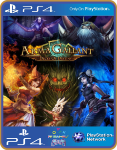 PS4 ArmaGallant Decks of Destiny Psn Original 1 Mídia Digital
