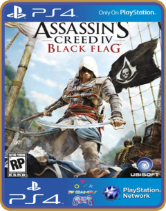 Ps4 Assassins Creed 4 Iv Black Flag Psn Original 1 Mídia Digital