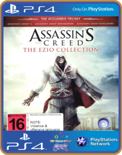 Ps4 Assassins Creed The Ezio Collection Psn Original 1 Mídia Digital