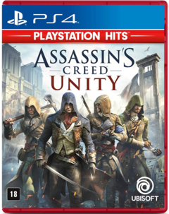 ASSASSINS CREED UNITY MÍDIA FÍSICA PS4
