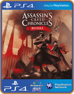 PS4 Assassins Creed Chronicles Russia Psn Original 1 Mídia Digital