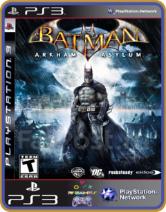 Ps3 Batman Arkham Asylum - Original Mídia Digital