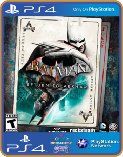 Ps4 Batman Return To Arkham  |  Original 1 Midia Digital