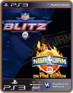 Ps3 Nba Jam On Fire Edition E Nfl Blitz Pack - Midia Digital - comprar online