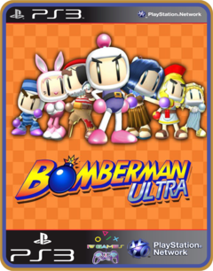 Ps3 Bomberman Ultra Mídia Digital
