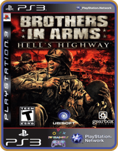 Ps3 Brothers In Arms Hells Highway |  Midia Digital - comprar online
