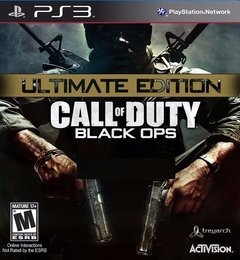 CALL OF DUTY BLACK OPS ULTIMATE EDITION PS3