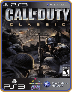Ps3 Call Of Duty Classic -   Mídia Digital - comprar online