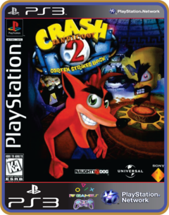 Ps3 Crash Bandicoot 2 - Mídia Digital