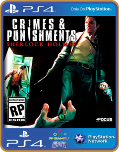 PS4 Sherlock Holmes Crimes and Punishments Psn Original 1 Mídia Digital - comprar online