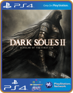 PS4 DARK SOULS II Scholar of the First Sin Psn Original 1 Mídia Digital