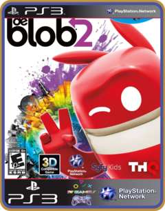 Ps3 De Blob 2 Psn Original Mídia Digital - comprar online