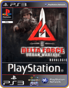 Ps3 Delta Force Urban Warfare  Original Mídia Digital