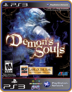 Ps3 Demons Souls Mídia Digital Original - comprar online