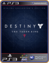 Ps3 Destiny The Taken King - Edição De Colecionador Digital