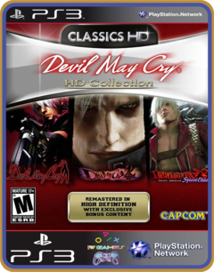 Ps3  Devil May Cry Hd Collection |  Original Mídia Digital