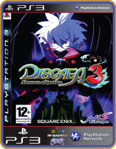 Ps3 Disgaea 3 Absence Of Justice | Mídia Digital - comprar online