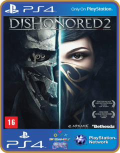 PS4 Dishonored 2 - midia digita Original 1