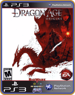 Ps3 Dragon Age Origins original Mídia Digital