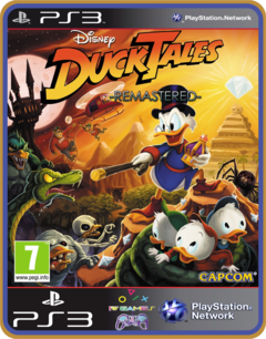 Ps3 Ducktales Remastered  Original Mídia Digital