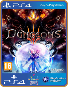 PS4 Dungeons 3 Psn Original 1 Mídia Digital