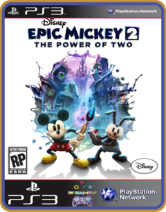 Ps3 Disney Epic Mickey 2 The Power Of Two Midia Digital - comprar online