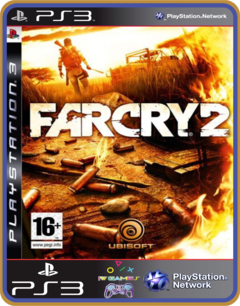 Ps3 Far Cry 2  Original Mídia Digital - comprar online