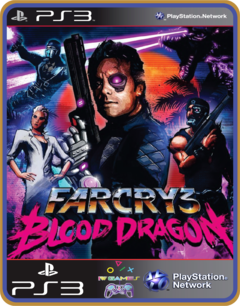 Ps3 Far Cry  Blood Dragon\original Mídia Digital