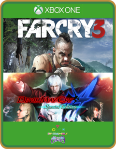 XBOX ONE PRIMÁRIA FAR CRY 3 E DEVIL MAY CRY 4
