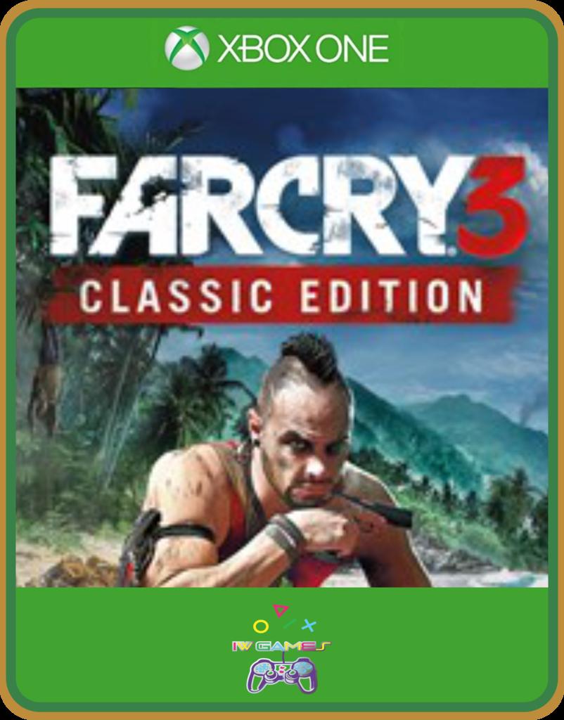 Xbox One Primaria Far Cry 3 Classic Edition