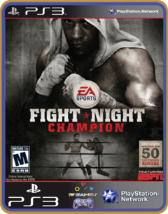 Ps3 Fight Night Champion - Mídia Digital Original
