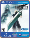 PS4 FINAL FANTASY VII REMAKE - PSN ORIGINAL 1 MÍDIA DIGITAL