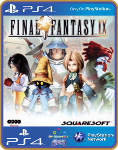 PS4 FINAL FANTASY IX Digital Edition Psn Original 1 Mídia Digital