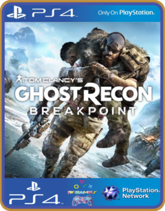 ps4 Tom Clancys Ghost Recon Breakpoint midia digital - comprar online