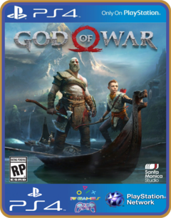 Ps4 God Of War 4 Dublado Psn Original 1 Mídia Digital