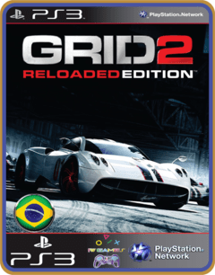 Ps3 Grid 2 Reloaded Português - Midia Digital