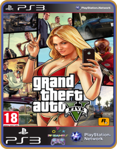 Ps3 Grand Theft Auto V Legendado Pt  Mídia Digital Gta 5