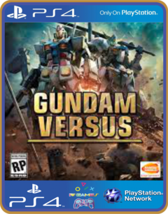 PS4 GUNDAM VERSUS Psn Original 1 Mídia Digital