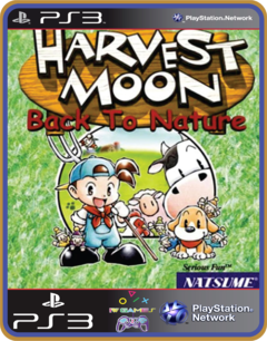 Ps3 Harvest Moon Back To Nature  Mídia Digital Psone Classic