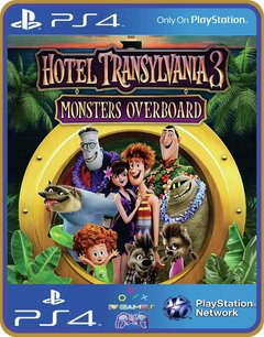 Ps4 Hotel Transylvania 3 Monstros Ao Mar Original 1
