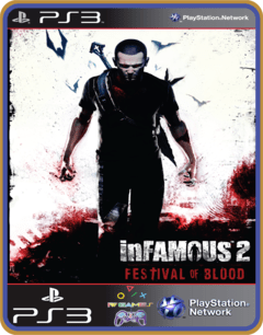 Ps3 Infamous Festival Blood Mídia Digital - comprar online