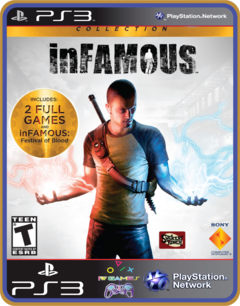Ps3 Infamous Collection  Original Mídia Digital - comprar online